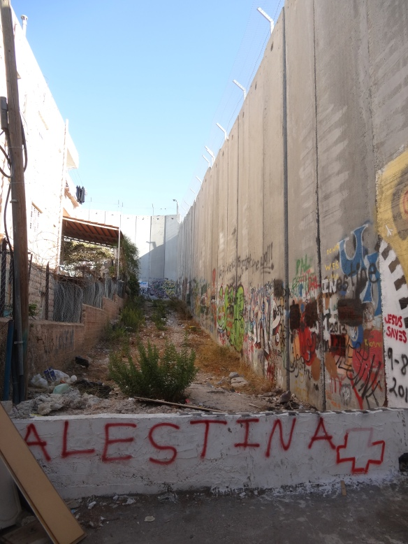 Betheleem- the Wall from the West Bank